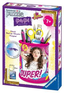 Girly Girl Soy Luna Portapenne. Puzzle 54 Pezzi 3D