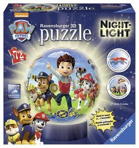 Paw Patrol. Lampada Notturna Puzzle 72 Pezzi 3D - 2