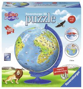 Mappamondo. Puzzle 180 Pezzi 3D - 2