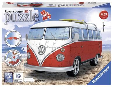 Pulmino Volkswagen. Puzzle 162 Pezzi 3D - 3