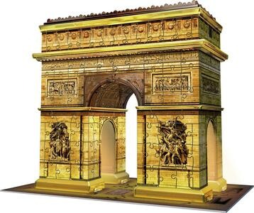 Arco di Trionfo Puzzle 3D Building Night Edition Ravensburger (12522) - 2