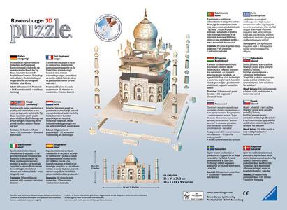 Taj Mahal Puzzle 3D Building Maxi Ravensburger (12564) - 4