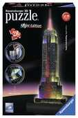 Giocattolo Empire State Building Puzzle 3D Building Night Edition Ravensburger (12566) Ravensburger
