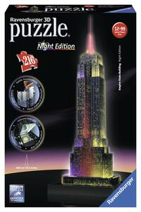 Empire State Building Puzzle 3D Building Night Edition Ravensburger (12566)