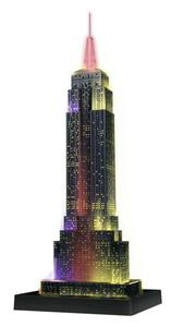 Empire State Building Puzzle 3D Building Night Edition Ravensburger (12566) - 3