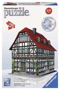 Casa Medioevale. Puzzle 3D 216 Pezzi - 2