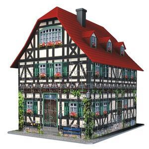 Casa Medioevale. Puzzle 3D 216 Pezzi - 3