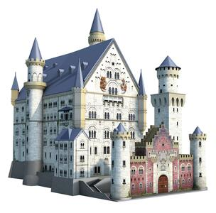 Castello di Neuschwanstein. Puzzle 3D 216 Pezzi - 4