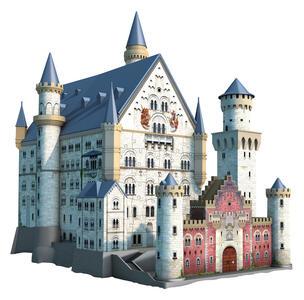 Castello di Neuschwanstein. Puzzle 3D 216 Pezzi - 5