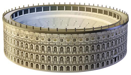 Colosseo. Puzzle 3D 216 Pezzi - 32