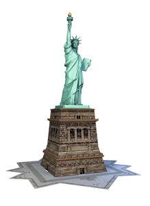 Giocattolo Puzzle 3D 108 pezzi Statua della Libertà Ravensburger 3