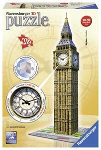 Big Ben Real Clock Puzzle 3D Building Ravensburger (12586) - 2