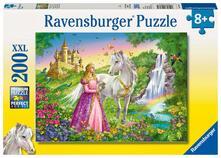 Ravensburger 12613. Puzzle Xxl 200 Pz. Principessa Con Cavallo