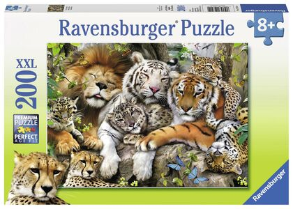 Giocattolo Puzzle Super. Grandi felini Ravensburger