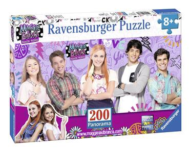 Bianca&Maggie Fashion Friends Panorama Puzzle 200 pezzi Ravensburger (12738)