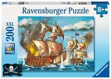 Ravensburger 12771. Puzzle Xxl 200 Pz. Pirati All'Arrembaggio