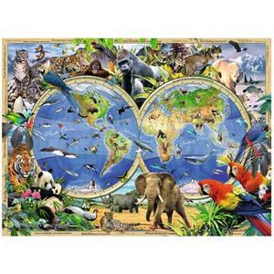World of Wildlife Puzzle 300 pezzi Ravensburger (13173) - 3