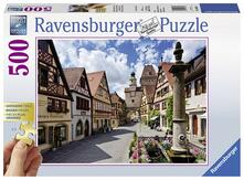 Puzzle da 500 Pezzi: Gold Edition . Rothenburg ob der Tauber