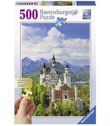 Puzzle 500 pezzi Gold Edition. Castello delle Favole di Neuschwanstein. Ravensburger 13681 puzzle 500 pezzo(i)