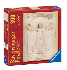 Leonardo: Uomo Vitruviano. Puzzle 300 Pezzi