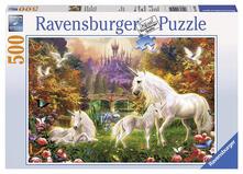 Ravensburger 14195. Puzzle 500 Pz. Unicorni A