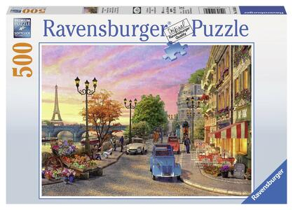 Serata a Parigi Puzzle 500 pezzi Ravensburger (14505) - 2