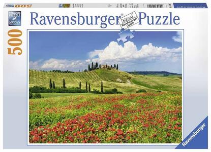 Estate in Toscana. Puzzle 500 Pezzi
