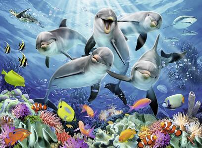 Delfini. Puzzle 500 Pezzi - 3