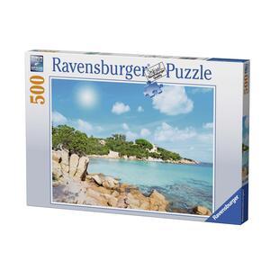 Spiaggia in Sardegna Puzzle 500 pezzi Ravensburger (14758) - 2