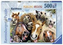 Puzzle da 500 Pezzi. Selfie in Fattoria