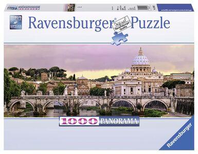 Giocattolo Puzzle 1000 pezzi Ponte di Castel Sant'Angelo, Roma Ravensburger 0