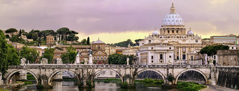 Giocattolo Puzzle 1000 pezzi Ponte di Castel Sant'Angelo, Roma Ravensburger 1