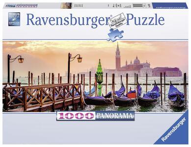 Gondole a Venezia Panorama Puzzle 1000 pezzi Ravensburger (15082)