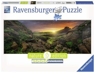 Sole sopra l'Islanda Puzzle 1000 pezzi Ravensburger (15094)