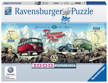 1000 Teile. Mit dem VW Bulli über den Brenner. Ravensburger 151028 puzzle Puzzle con tessere 1000 pezzo(i)