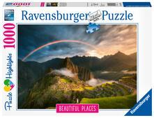 Arcobaleno su Machu Pichu, Perù Ravensburger Puzzle 1000 pz - Foto & Paesaggi