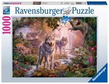 Lupi d'estate Ravensburger Puzzle 1000 pz - Fantasy