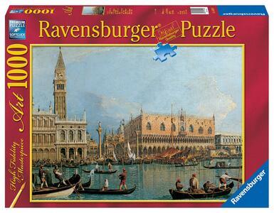 Canaletto: Palazzo Ducale Puzzle 1000 pezzi Ravensburger (15402) - 4