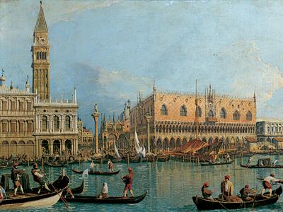 Canaletto: Palazzo Ducale Puzzle 1000 pezzi Ravensburger (15402) - 5