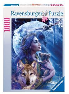 La donna e il lupo Puzzle 1000 pezzi Ravensburger (15414) - 3