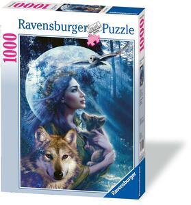 La donna e il lupo Puzzle 1000 pezzi Ravensburger (15414) - 4