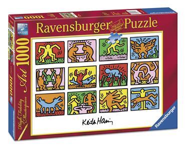 Keith Haring Puzzle 1000 pezzi Ravensburger (15615) - 3