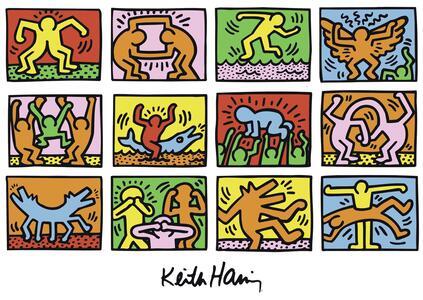 Keith Haring Puzzle 1000 pezzi Ravensburger (15615) - 4