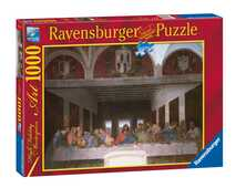 Giocattolo Puzzle 1000 pezzi Leonardo Ultima cena Ravensburger