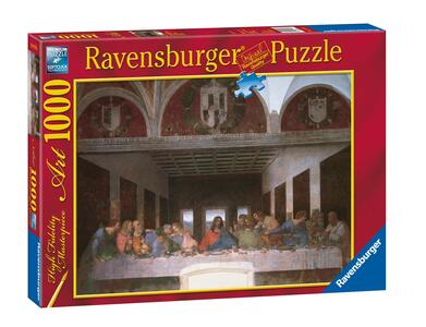 Leonardo: L'ultima cena Puzzle 1000 pezzi Ravensburger (15776) - 3