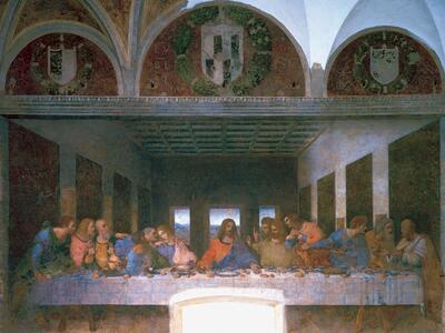 Leonardo: L'ultima cena Puzzle 1000 pezzi Ravensburger (15776) - 4