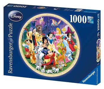 Giocattolo Puzzle DCL Protagonisti Disney Ravensburger 0