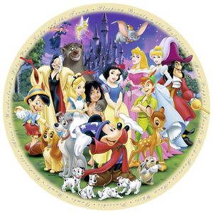 Giocattolo Puzzle DCL Protagonisti Disney Ravensburger 1