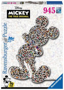 Sondermotive Erwachsenenpuzzle. Shaped Mickey. Ravensburger 00.016.099 puzzle Puzzle con tessere 945 pezzo(i)