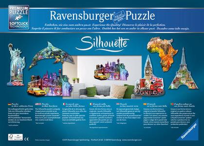 Giocattolo Puzzle Silhouette Tour Eiffel, Parigi Ravensburger 3